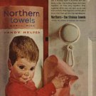 1962 Northern Towels ad   ( # 680)