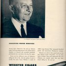 Sept. 13, 1948    Webster Cigars   ad  (#5410)