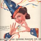 Jan. 15, 1940  Chesterfield cigarette with Donna Dae  ad (# 515)