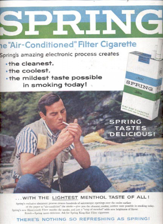 1960  Spring Cigarettes  ad (#5475)