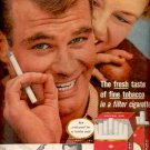 1957  Hit Parade Cigarettes   ad (# 4746)