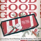 Dec. 1960   Pall Mall Cigarettes  ad (#5780)