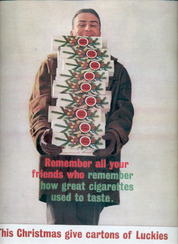 1960  Lucky Strike Cigarettes  ad (#5502)
