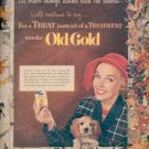 1952 Old Gold Cigarettes  ad (# 4469)