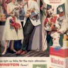 1957   Winston Cigarettes  ad (# 4919)