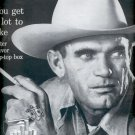1957  Marlboro Flip-Top Box Cigarette  ad (# 4732)