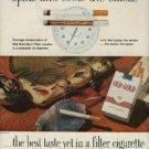 1960  Old Gold    cigarette ad   (  #925)