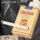 1954 Old Gold     cig  ad ( # 1825)