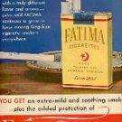1952  Fatima cig   ad ( # 1826)