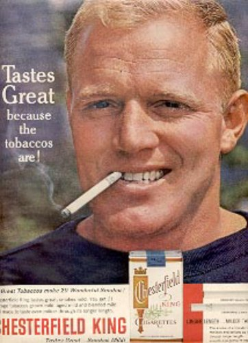 1963 Chesterfield   King    cig. ad (#  2720)