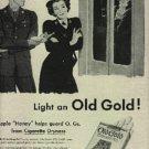 1945  Old Gold    cig  ad ( # 720)