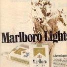 1972  Marlboro     Lights  cig. ad ( # 2693)