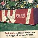 1962 Pall Mall     cig  ad ( # 1680)
