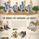 April 21, 1947   U.S. Keds- The Shoe of Champions -  ad (#6200)