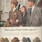 March 3, 1947  Stetson Narrow Brim hats  ad (#6168)