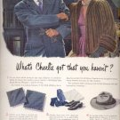 1945   Royal Stetson Whippet Hat   ad (# 5222)