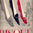 Sept. 9, 1957 Risque Shoes- Brown Shoe Co .  ad (# 4760)