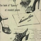 1947  The American Girl  shoe ad (#477)