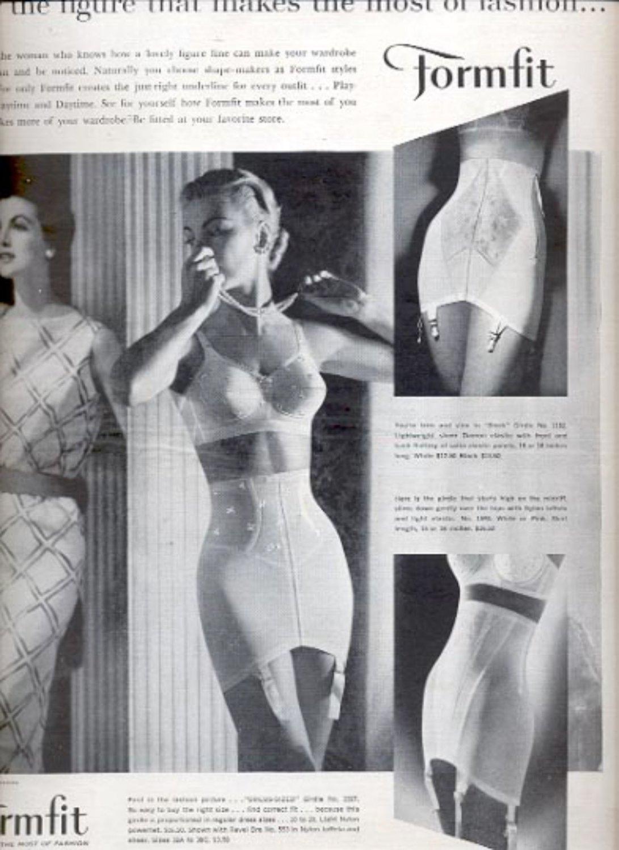 1957   The Formfit Company  ad (# 4979)