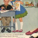 1958 Buster Brown ad (# 2592)