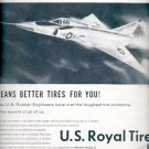 1957  U.S. Royal Tires- United States Rubber ad (# 4726)