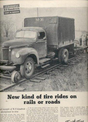 April 21, 1947  Truck Tires by B. F. Goodrich  ad (#6176)