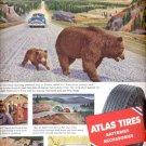 1954  Atlas Tires batteries accessories ad (# 5166)