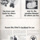 1964   Texaco Sky Chief Gasoline  ad (# 4839)