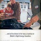 1964 Mobil High Energy Gasoline   ad (# 4511)
