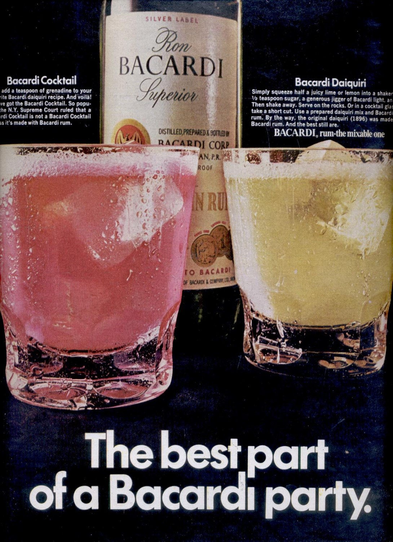 July 31, 1970  Bacardi rum     ad  (# 2836)