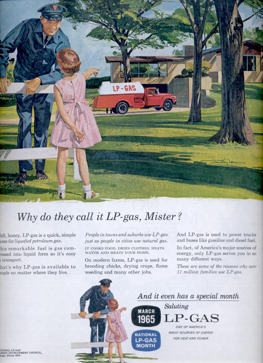 March 27, 1965 LP Gas      ad  (# 2838)