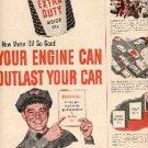 1953  Sinclair Motor Oil  ad (# 2818)