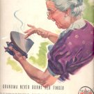 1940 Texaco   ad-   Grandma (#72)