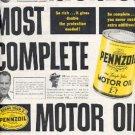 1961 Pennzoil Motor Oil ad (#  2134)