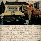 1970 Quaker State Motor Oil ad (  # 47)