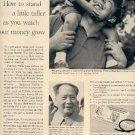 1962 U.S. Savings Bonds ad (# 1663)
