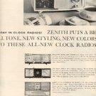 1960 Zenith Radio ad   (  # 2524)