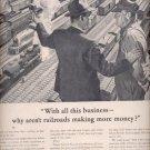 June 2, 1947  American Railroads- the nation's basic transportation   ad (#6248)