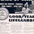 1939  Goodyear Lifeguards ad ( # 2684)