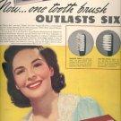 Oct. 30, 1939  Tek tooth brush   ad (#6060)