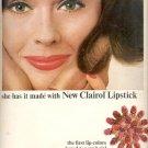 1965  Clairol Lipstick    ad (#5903)