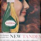 Nov. 1960  Tandem Shampoo by Bristol-Myers     ad (#5768)