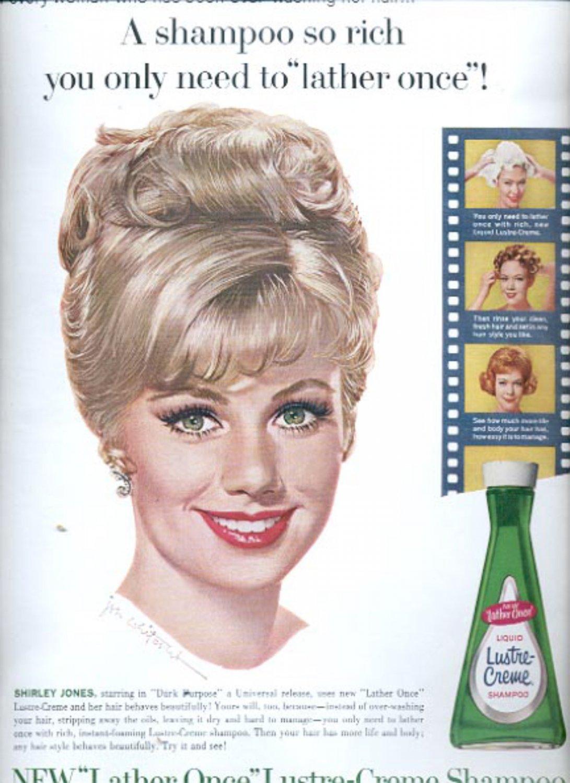 1963   Lustre-Creme Shampoo   ad (#5529)