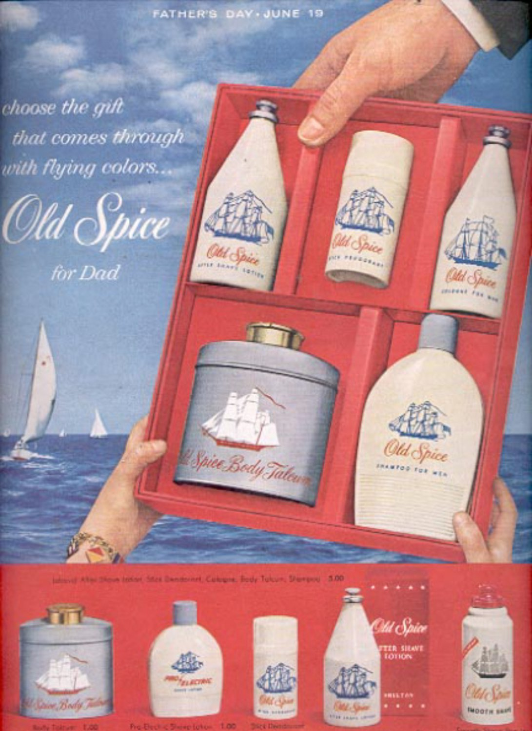 1960  Old Spice by Shulton  ad (#5491)