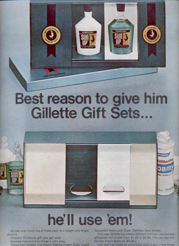 1967 Gillette Gift Sets  ad (#5447)