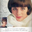 1964  Cover Girl Medicated Make-up by Noxzema  ad (# 4505)