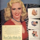 1946 Max Factor Pan-cake make-up ad (# 5083)
