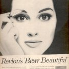 1964  Revlon's Brow Beautiful  ad (# 5027)