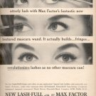 1964  - New Lash-full by Max Factor ad (# 5015)