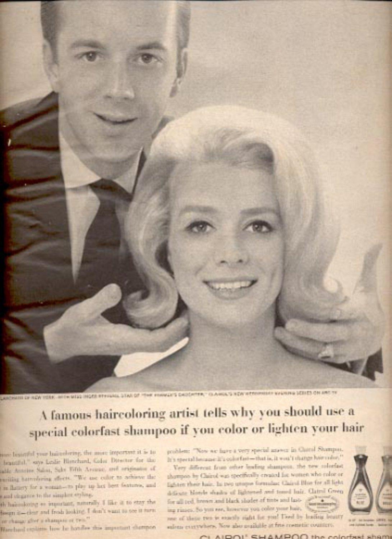 1964   Clairol Shampoo  ad (# 4860)